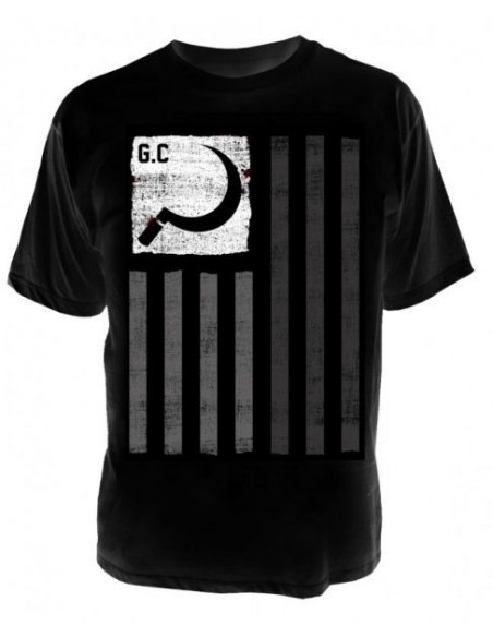 Ground Control T-Shirt Flag black
