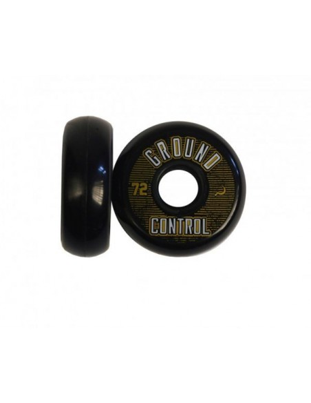 Ground Control Wheel 72mm 90A black/gold
