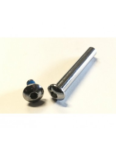 Powerslide Axle set 8mm M.F.