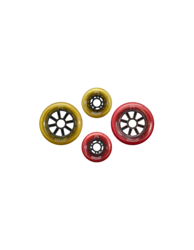 FR glitter wheels 76mm/80mm