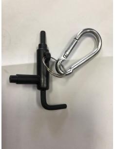 portachiavi con chiave...