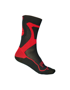FR- nano sport socks black/red
