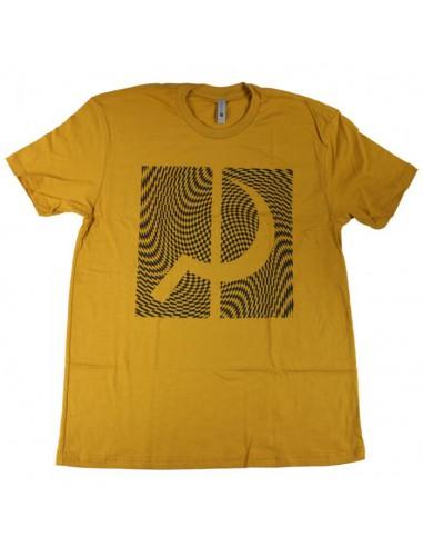 GROUNDCONTROL T-shirt Sick box gold