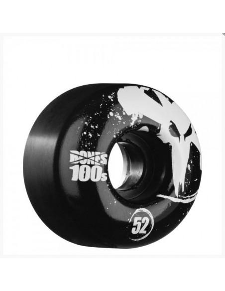 BONES 100'S 52mm black