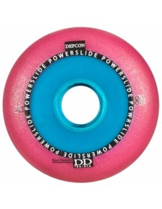 POWERSLIDE Defcon RTS Wheel Pink Dual Density 85A-76A