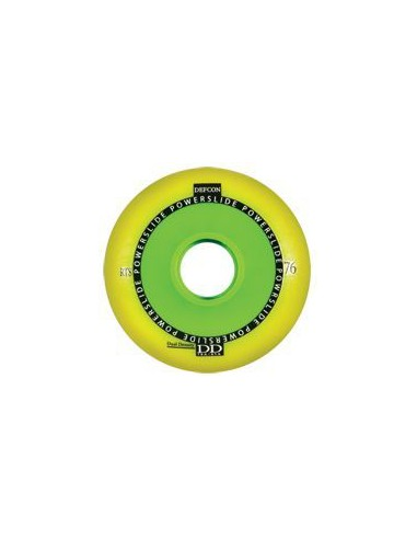 POWERSLIDE Defcon RTS Wheel Yellow 85A-76A
