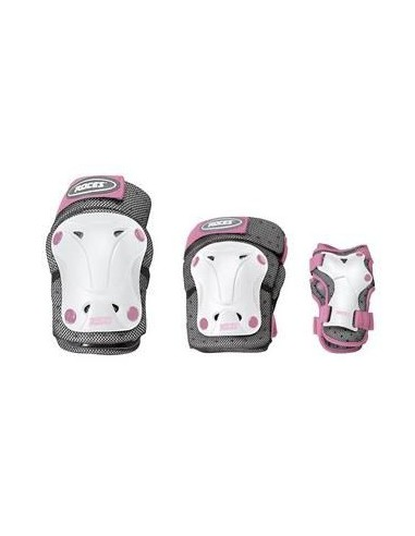 ROCES Junior ventilathed 3Pack girl