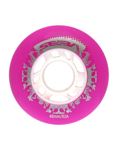SEBA Street Kings Junior wheels pink 82A