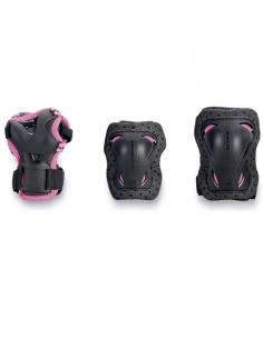ROLLERBLADE bladegear junior 3Pack pink