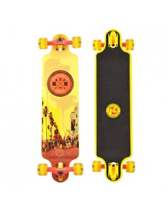 Kryptonics The Strip 34 Zoll Drop Down Longboard