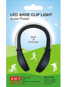 CLIP CON LUCE LED NOTTURNA
